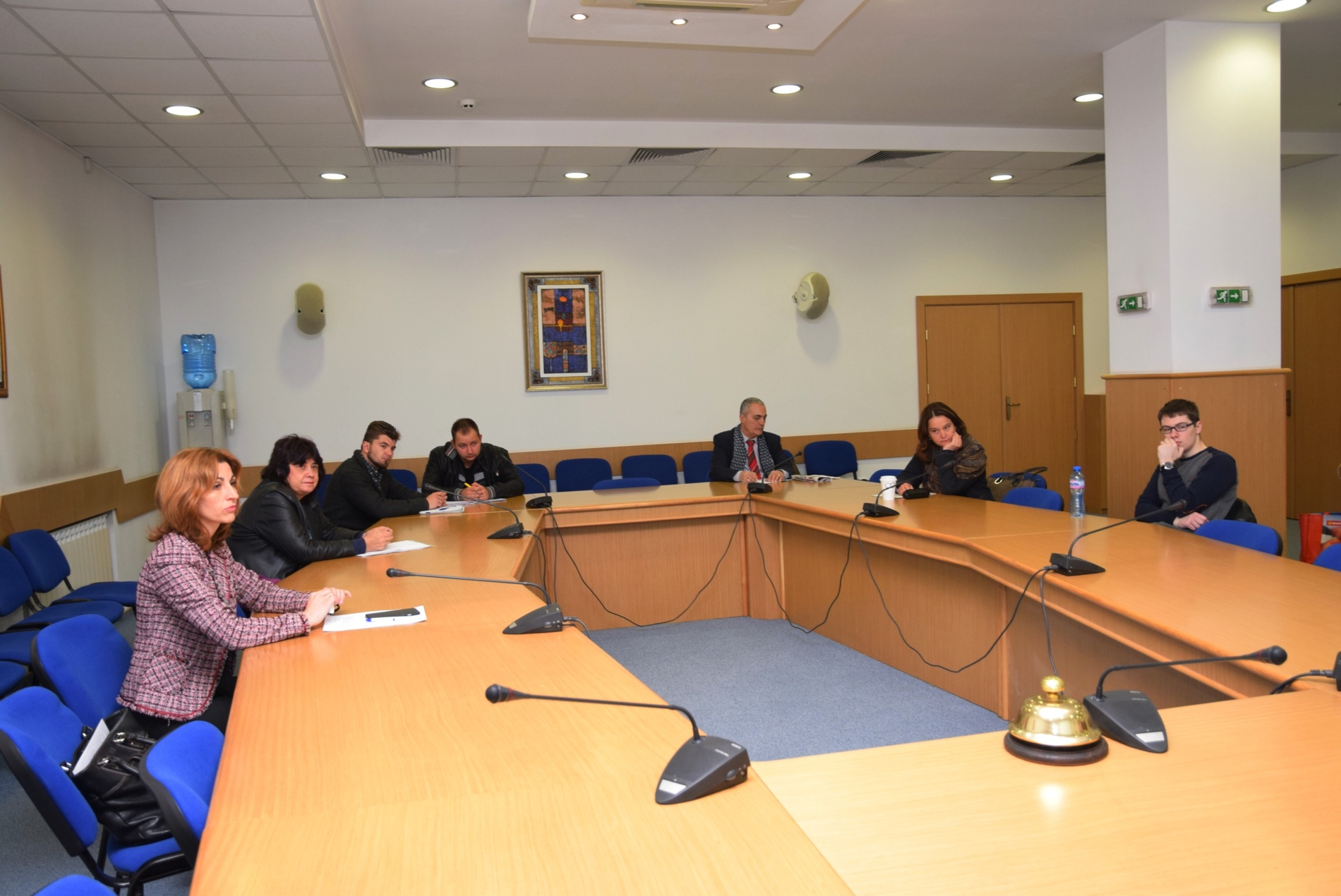 UNWE Round Table Conference On The Cooperation Between China And - 16 person conference table