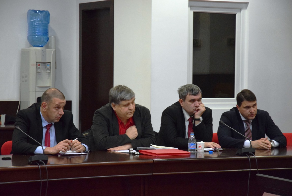 """After this Conference we should continue to have permanent conversations about the SME, said the Rector and pointed out the necessity of future editions of the Forum. He commented the fact that 99,8 percent of the enterprises in the country which had been in the category of SME had often been determined as """"the spine of our industry"""". Prof. Stattev expressed his expectations for a useful conversation and a content forum where the issues should be well formulated and discussed."""