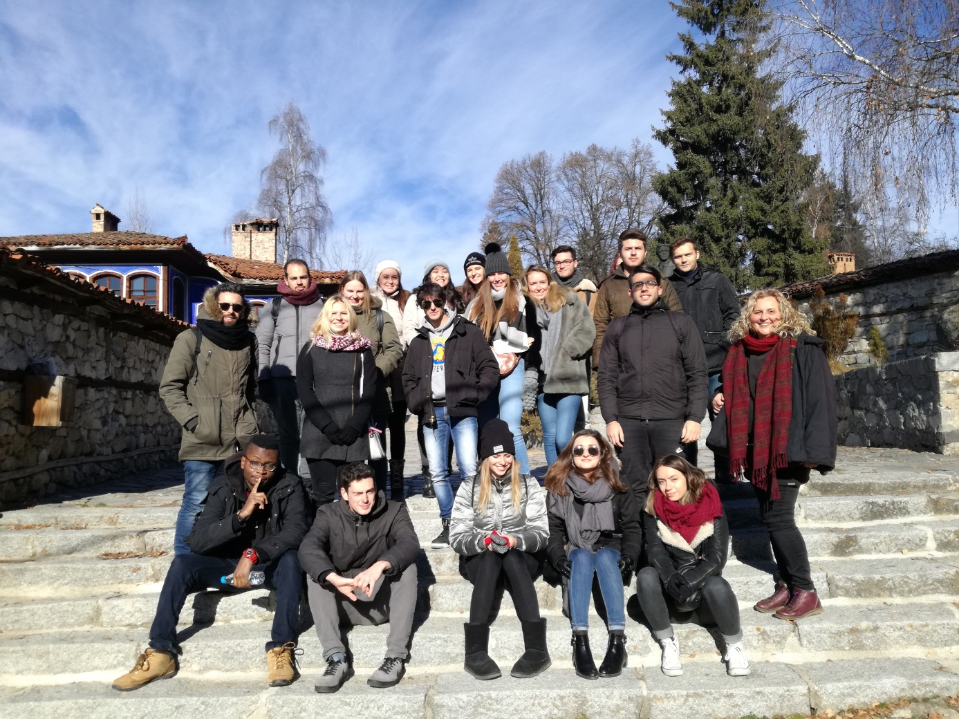 The University Center for Students and Lecturers Mobility organized an excursion to Koprivshtitsa town for the foreign students from nine countries who study at the UNWE on the Erasmus Programme during the winter semester of academic year 2018-2019.