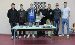 """Нашият отбор по шахмат с титлата """"Национален студентски шампион за 2014 г."""""""