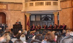 The Rector Greeted The Academic Community of St. Climent Ohridski University of Sofia