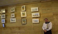 Pictures of Assoc. Prof. Georgy Chankov Were Presented in An Exhibition