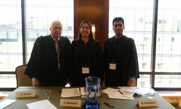 Doctoral Student from The Law Faculty – Judge during The Most Prestigious Forum on The International Law