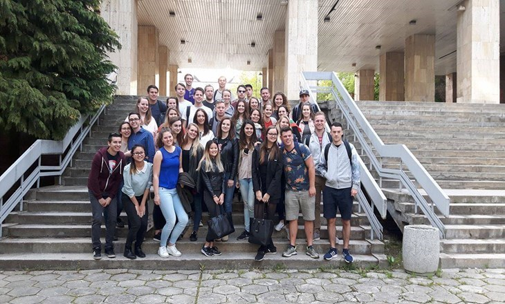 Students from The Tilburg University, Netherlands Visited The UNWE