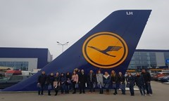 Students of Specialty Economics of Transport Visited Lufthansa Technik Sofia