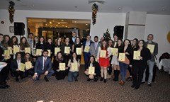 The Alumni Club of Students Council Awarded  37 Excellent Students