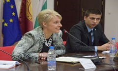 Public Lecture by H.E. Emma Hopkins, Ambassador of the UK to Bulgaria