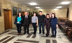 Representatives of the Financial Academy in Astana Visited the UNWE