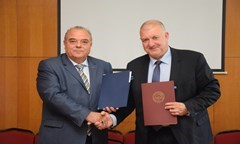 Framework Agreement of Cooperation between the UNWE and Customs Agency