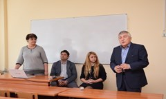 Financial Control Department Presented Two New Master`s Degree Programmes