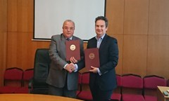 Agreement of Cooperation between the UNWE and VIVACOM