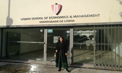 Lecturer from the UNWE Led Seminar at the Lisbon School of Economics and Management