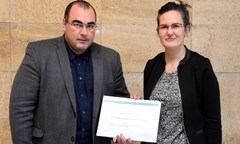 UNWE Graduate Won the First Prize for the Best Publication by Young Sociologist
