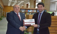 The Youth Business Club Donated Books to the University Library