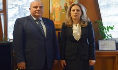 The Rector Prof. Statty Stattev and the Vice Prime Minister Mariana Nikolova Discussed the Relation Higher Education – Practice
