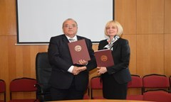 Memorandum of Cooperation between the UNWE and Deloitte Bulgaria