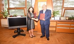 UNWE is the First Bulgarian University Concluded a Memorandum of Understanding with the EC Joint Research Center