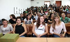 At The Regional Center for Distance Learning in Haskovo Were Met 166 First Year Students