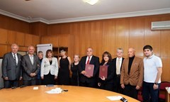 A Framework Agreement between the UNWE and The Chamber of Independent Appraisers in Bulgaria