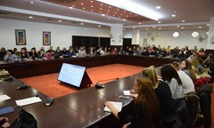 Information Meeting with The Fourth Year Students from The Speciality Public Administration