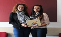 A Student Girl from The UNWE Is The Winner in The Competition Mtel PR Challenge 2015