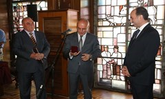 The Rector Was A Presenter during The Inauguration Ceremony at The Bulgarian National Bank