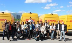 Students Visited DHL Express Bulgaria