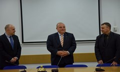 The Rector Opened The First International Nuclear Security Master`s Degree Programme in Bulgaria